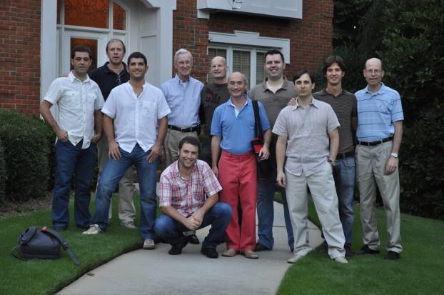 Foto con Dr McGlamry en casa de Dr Banks